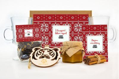 {[ru]:Подарочные наборы для глинтвейна клиентам на Новый год. Арт: gl13_008