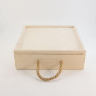 Деревянная коробка для чая или кофе