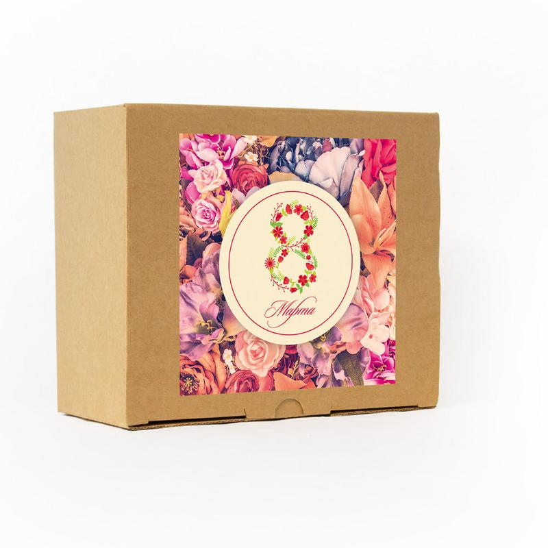 Коробка подарочного набора на 8 марта