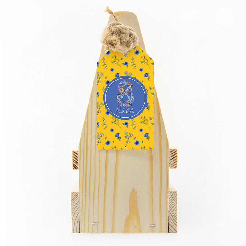 Набор «8 марта» с чаем, клюквой с айвой, медом и джемом te5038 - 8 - Весь каталог - EcoGift.by