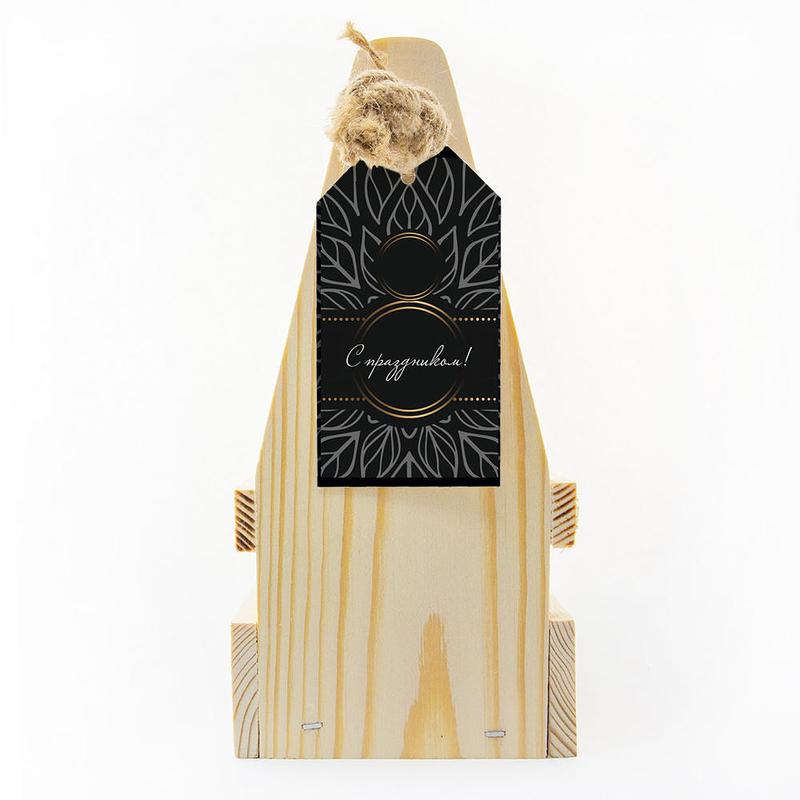 Набор «8 марта» с чаем, клюквой с айвой, медом и джемом te5048 - 7 - Весь каталог - EcoGift.by