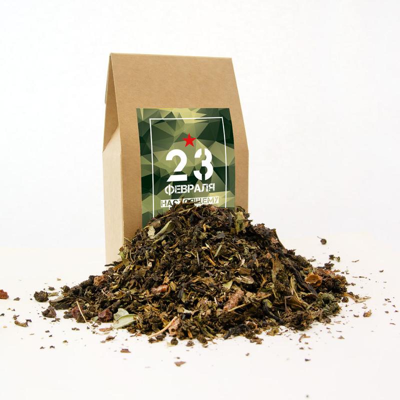 Подарочный чай на 23 февраля