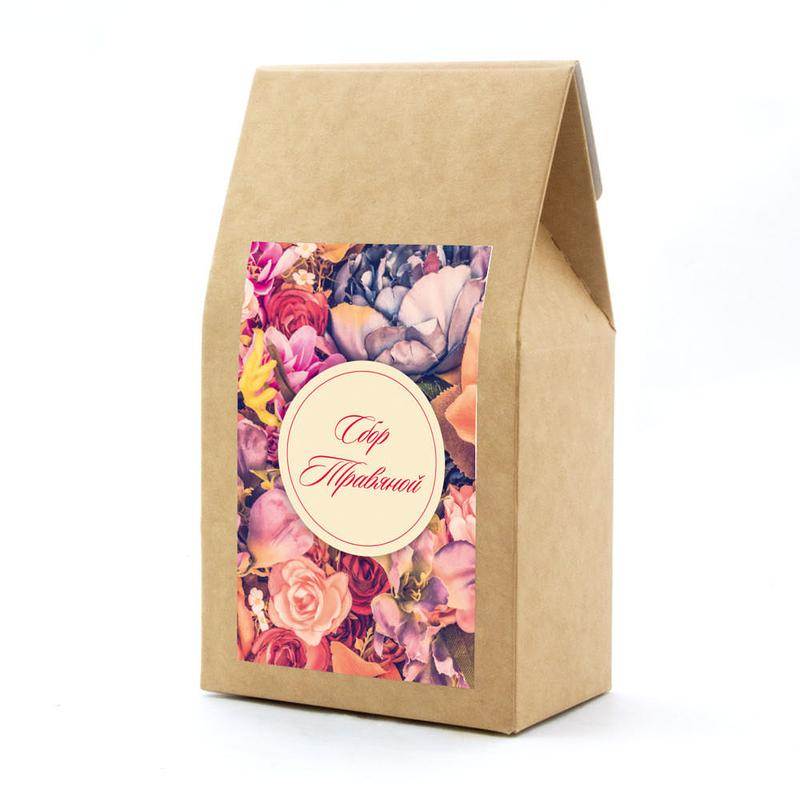Набор «8 марта» с чаем, клюквой с айвой, медом и джемом te5028 - 4 - Весь каталог - EcoGift.by