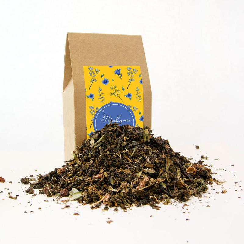 Набор «8 марта» с чаем, клюквой с айвой, медом и джемом te5038 - 3 - Весь каталог - EcoGift.by