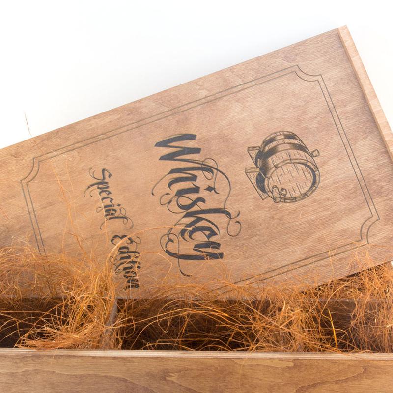 Детали набора для виски «Eco Whiskey Premium»