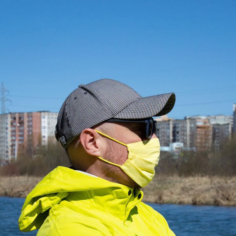 Желтые защитные маски