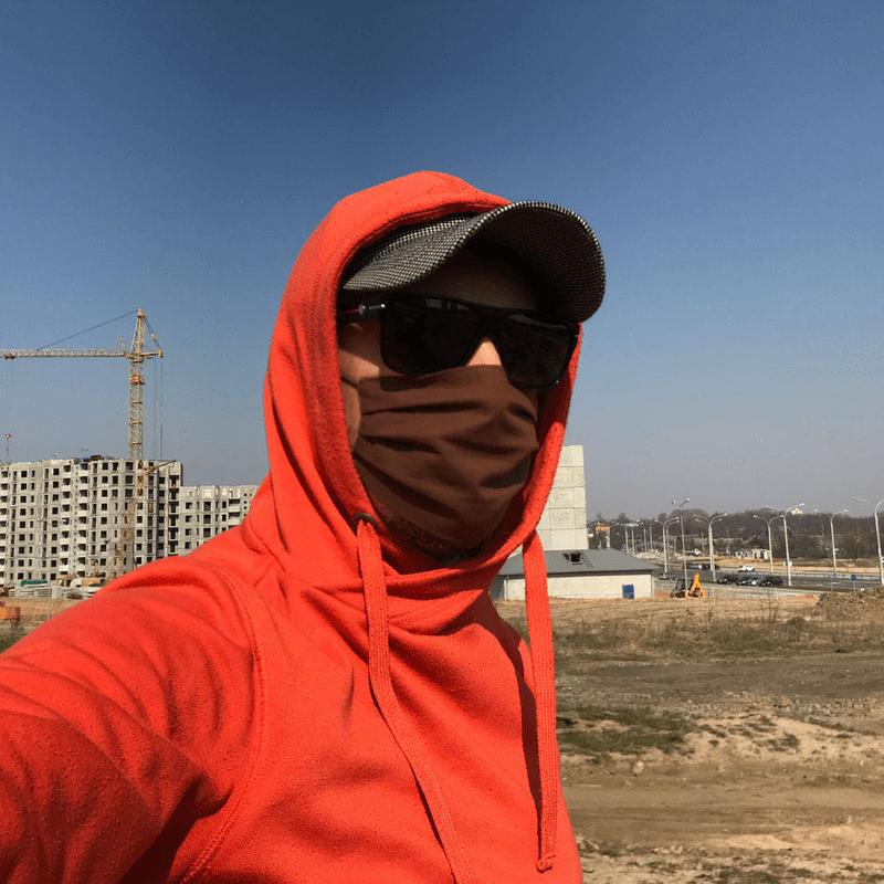 Коричневые многоразовые защитные маски