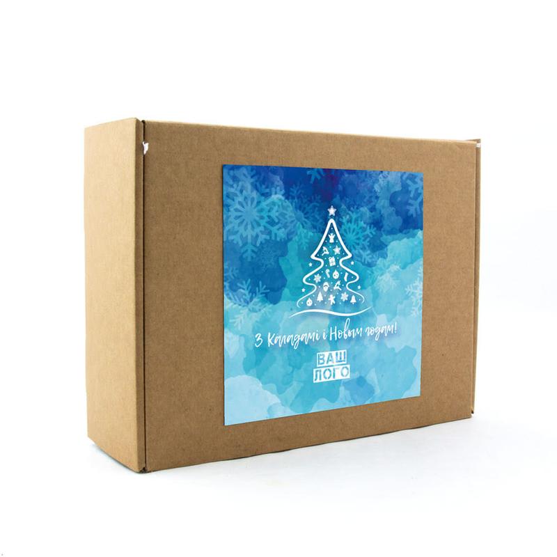 Подарочная коробка с логотипом для набора арт: gl11_017