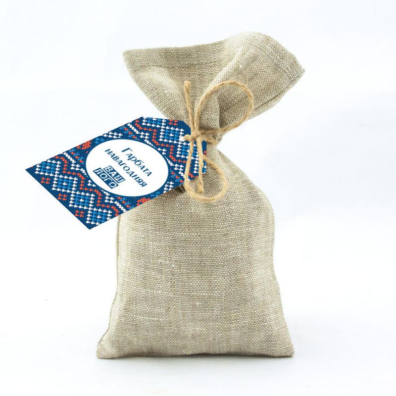 Подарочный чай в льняном мешочке с логотипом te55_001