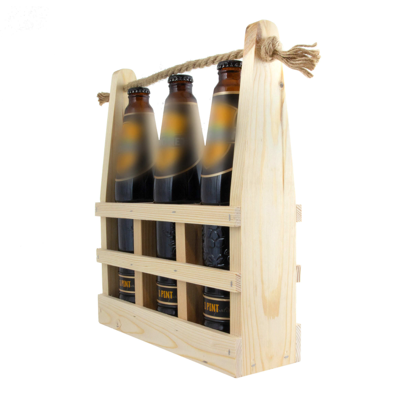 Деревянный ящик для пива